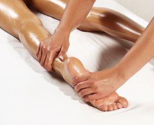 75min Spa Smart Pedicure and Leg massage
